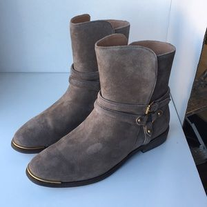 6b36557436a ❤️New Ugg Kelby Ankle Bootie Boots color Mouse 10 NWT